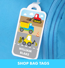 Shop Bag Tags.