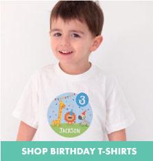Shop Birthday Tshirts.