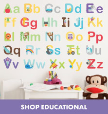 Shop Educational Wall Stickers.