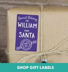 Shop Gift Labels.