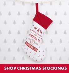 Shop Christmas Stockings.